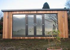 Contemporary gallery on Sanctum Garden Studios Modern Patio Doors, Garden Studio, Sheds, Studios, Gardens, Windows, Contemporary, Gallery, Room