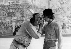 """""""I'm going out with my droogs to the cinny to shove a pooshka into the grahzny bratchny."""" A roundup of some behind-the-scenes photos from the set of Stanley Kubrick's A Clockwork Orange, 1971. Like Cure videos and cute cat memes, there is a seemingly bottomless well of Kubrick memorabilia on the Internet. His films will still be discussed, debated—and still WATCHED—500 years from now. """"Viddy well, little brother. Viddy well."""" ..."""