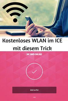 Auch in der 2. Klasse im ICE kostenlos im Internet surfen? Mit diesem kleinen Trick, kein Problem ---> http://www.reiseuhu.de/?p=389 #DeutscheBahn