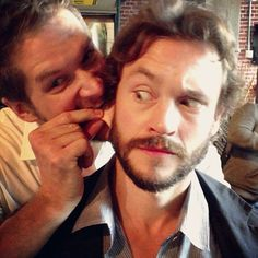 Bryan Fuller and Hugh Dancy | Hannibal at San Diego Comic-Con 2013 | Hannibal Cafe