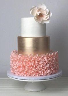 Featured Wedding Cake: Crummb; www.crummb.com; Wedding cake idea. Beautiful Birthday Cakes, Beautiful Cakes, Amazing Cakes, Sweet Sixteen Cakes, Sweet 16 Cakes, Wedding Cake Designs, Wedding Cakes, Quince Cakes, 16 Birthday Cake