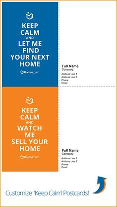 Add some flair to your proposals and #realestate #marketing materials while capitalizing on the latest catch phrase by downloading and customizing Homes.com's 'Keep Calm' graphics! #KeepCalm