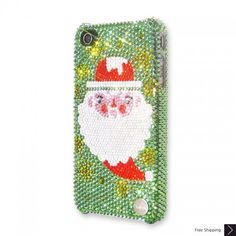 Santa Bling Swarovski Crystal iPhone 5 Case