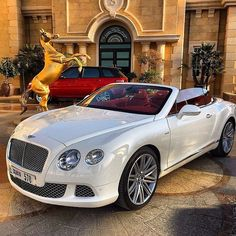 "Looks like a Bentley. Never seen a Bentley ""Sports Car"" before. Maserati, Bugatti, Bentley Auto, Bentley Truck, Sexy Cars, Hot Cars, Rolls Royce, Prom Car, Jaguar F Typ"
