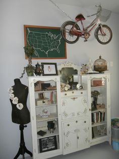 My industrial shabby chic office.
