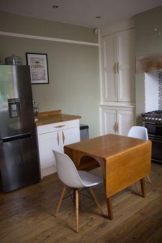 New kitchen from door