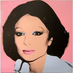 "Farah Dinah Pahlavi, Empress of Iran, 1977 Acrylic and silkscreen ink on canvas x cm by Andy Warhol from the ""AVEDON WARHOL"" Exhibition. Andy Warhol Pop Art, Andy Warhol Portraits, Warhol Paintings, Farah Diba, Photo Star, Shiva Art, Mid Century Art, Pablo Picasso, American Artists"