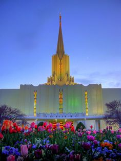 The most beautiful picture of the Jordan River Temple that I've ever seen.