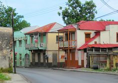 BARBADOS.........  Bridgetown  Housing - Bridgetown was built upon a street layout resembling early English Medieval or market towns with its narrow serpentine street and alley configuration.