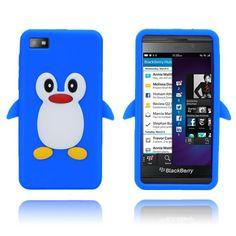 """Søkeresultat for: """"penguin blue blackberry cover"""" Blackberry Z10, Penguins, Phone, Cover, Blue, Telephone, Penguin, Blankets, Mobile Phones"""