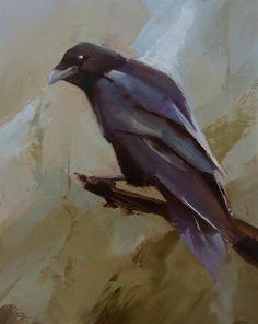 """Raven 6"" original fine art by Thorgrimur Andri Einarsson"