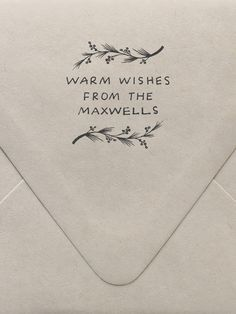 tampons pour les enveloppes de faire part