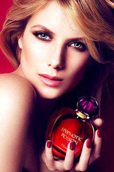 > Mélanie Laurent for Hypnotic Poison de Christian Dior