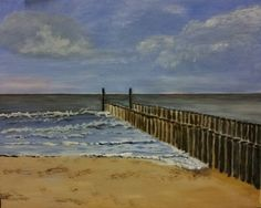 Domburg (Zeeland) (acrylic on canvas board - 30x40 - 061115)