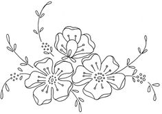 Embroidery Designs Game Of Thrones Embroidery Patterns Online Embroidery Flowers Pattern, Hand Embroidery Designs, Vintage Embroidery, Embroidery Applique, Flower Patterns, Cross Stitch Embroidery, Flower Designs, Machine Embroidery, Embroidery Thread
