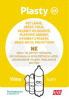 Tříděný odpad svěřte AVE CZ Earth Day, Zero Waste, Wicker, Chemistry, Projects