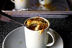 roasted tomato soup with broiled cheddar by smitten