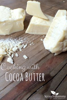 Cooking with Cocoa Butter: Why it isn't just for skincare!