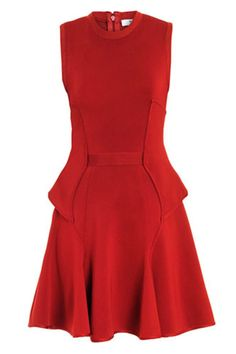 Givenchy Red Dress - Holiday Party Dresses - Harper's BAZAAR