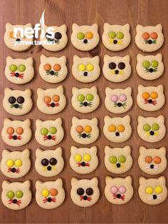Bonibonlu Kedi Kurabiye – Nefis Yemek Tarifleri Puff pastry cookies recipes # flavor # presentation # presentation is important Cat Cookies, Cookies For Kids, Cookies Et Biscuits, Cupcake Cookies, Easy Cookie Recipes, Yummy Recipes, Delicious Desserts, Dessert Recipes, Yummy Food