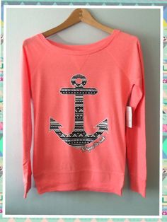 Long SleeveRefuse To Sink  Aztec Anchor by CustomTsCorp on Etsy, $19.99