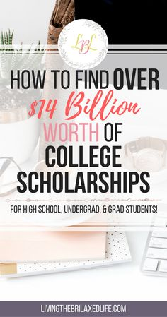 There are so many available scholarships out there that anybody can apply to. Here is a list of over $14 Billion worth of scholarships for college. Make sure you check them out and apply! Some of them are even easy scholarships that don't require an essay. Financial Aid For College, College Planning, Education College, College Savings, College Counseling, College Checklist, College Fund, College Teaching, Free Education
