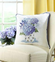 Sandrinha Ponto Cruz: Almofadas floridas