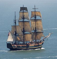 "NOT a ""Tall Ship ""   that term refers to Clippers and Windjammers. not every sailing ship..   Australias HMS Endeaviour Replica"