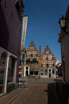 Stepped Gables, Klein Heiligland - Gedempte Oude Gracht, Haarlem