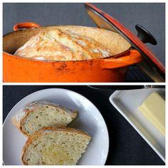 No-knead bread recipe