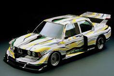 BMW 320i by roy lichtenstein, 1977