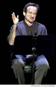 Robin Williams in The Exonerated