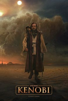 'Kenobi: A Star Wars Story' poster by Phase Runner : StarWars Star Wars Fan Art, Star Wars Concept Art, Star Wars Trivia, Star Wars Facts, Images Star Wars, Star Wars Pictures, Star Wars Jedi, Star Trek, Star Citizen