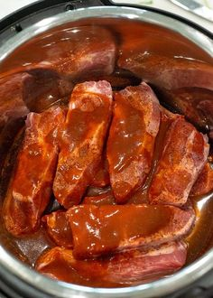 How to cook ribs in the pressure cooker: Tender, juicy, fall apart... If that's how you like your pork ribs, then you'll love this Country Style Pork Rib recipe. Even better, since you're cooking them in the pressure cooker, they're done in about 30 minutes! These pressure cooker pork ribs are seriously amazing!