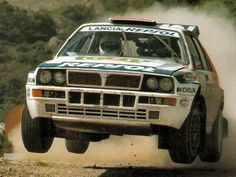 Lancia Delta Integrale - WRC returns: Our top five rally cars Lancia Delta, Turin, Wheel In The Sky, Rally Raid, Flying Car, Bad To The Bone, Italian Beauty, Toyota Celica, Amazing Cars