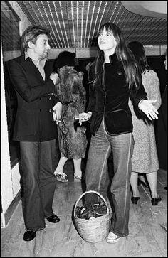 S. Gainsbourg e J. Birkin.