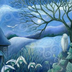 art print Twilight by Amanda Clark by earthangelsarts on Etsy, $24.00