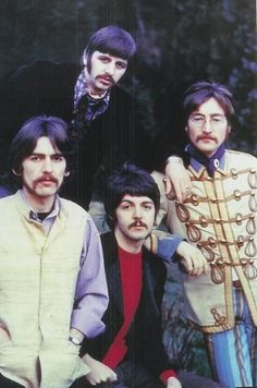"""#TheBeatles posing for """"Life Magazine"""" in 1967"""