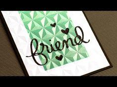 Video: Faux Textured Metal Paper + GIVEAWAY | Jennifer McGuire Ink