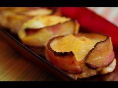Cozinha para quem não sabe cozinhar. Sem fogão, sem complicação. Aprenda receitas deliciosas, com poucos ingredientes. Tudo simples e rápido. Neste vídeo te mostramos como fazer um cupcake extraordinário de omelete com bacon e muito amor.    Ingredientes:  Ovo  Bacon  Sal