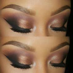 I created this looking Morphe Brushes 35w palette, NYC Liquid liner, Anastasia Beverly Hills Dipbrow pomade in Dark Brown #anastasiabeverlyhills #morphebrushes #nycliquidliner Www.instagram.com/tammywbeauty