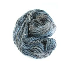 Chunky merino wool in shade 'School Days'; Perran Yarn hand dyed by SixSkeins