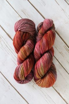 Yarns colorway Jewel Thief. swiftyarns.com   Swift Downtown fingering weight yarn. 437 yards.
