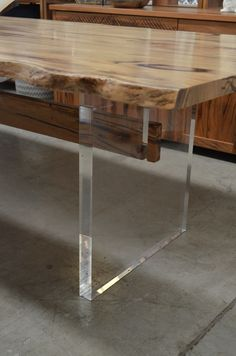A contemporary dining table that is totally chic! Western Australian marri timber at its finest at The General Store furniture, Osborne Park