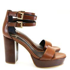 Sandália Plataforma Conhaque 4112377 Dumond | Moselle sapatos finos femininos! Moselle sua boutique online.