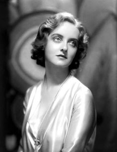 Taken in 1930 this is Bette Davis at age 22 shortly after she moved to Hollywood and signed with Universal Studios. Her films at Universal (and on loan-out to other studios) were unsuccessful and she was dropped by the studio two years later. Bette eventually found great success and won two Best Actress Academy Awards after she signed with Warner Bros. in 1932
