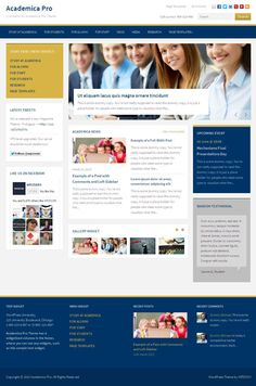 Academica Pro WordPress Education Theme
