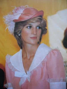 Diana at the opening of the new Scartho Road Hospital in Grimsby, Lincolnshire, England on July 26, 1983. It was renamed Diana Princess of Wales Hospital in honor of the late Princess after her death in 1997.