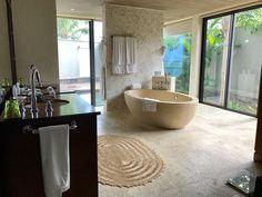 Mauritius, St. Regis Villa Mauritius, Villa, Amazing Bathrooms, Nest, Bathtub, Luxury, Vacations, Nest Box, Standing Bath