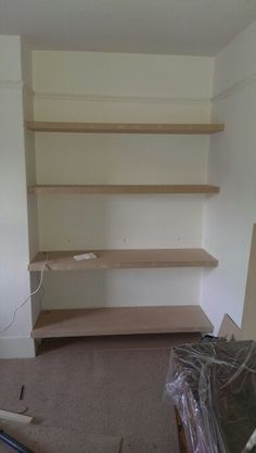 Mdf Floating Shelves Made By Me Www Mancavecreations Co Uk Shelves Floating Shelves Interior